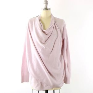 360 Sweater Cashmere Natalya Drape Cardigan